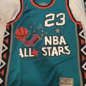 promo code 7e689 1be28 Michael Jordan NBA San Antonio all star jersey NWT